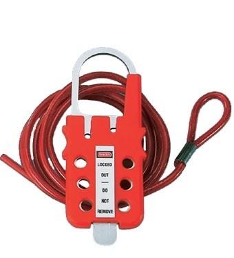 PANDUIT PSL-MLDC200 Универсальное устройство для блокировки с покрытым винилом тросиком из оцинкованной стали, 61 м, в бухте с петлей (только кабель)<img style='position: relative;' src='/image/only_to_order_edit.gif' alt='На заказ' title='На заказ' />