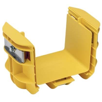 PANDUIT FRBC4X4YL Соединитель для системы FiberRunner, 100 мм х 100 мм, желтый<img style='position: relative;' src='/image/only_to_order_edit.gif' alt='На заказ' title='На заказ' />