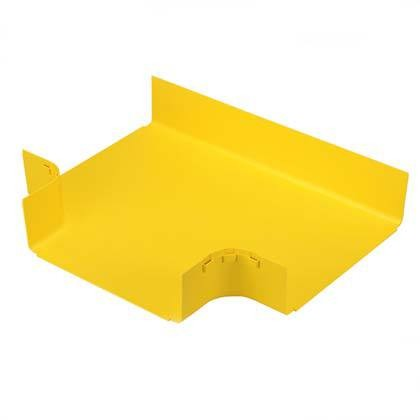 "PANDUIT FRT12X4YL Горизонтальный тройник для распределительного лотка FiberRunner 12"" x 4"" (300 мм х 100 мм), желтый<img style='position: relative;' src='/image/only_to_order_edit.gif' alt='На заказ' title='На заказ' />"