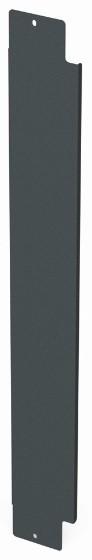 Siemon V8A-BLNK-1-45 Вертикальная панель-заглушка половинной высоты для шкафа V800, 45U, черная<img style='position: relative;' src='/image/only_to_order_edit.gif' alt='На заказ' title='На заказ' />