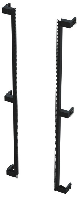 Siemon V8A-R-1-42-SALE Комплект монтажных профилей для шкафа V800, 42U, черный (РАСПРОДАЖА)