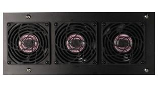 Siemon VP-FAN-220-SALE Панель с вентиляторным блоком для установки в крышу шкафа, 3 вентилятора, 220 В переменного тока, вилка C14 (РАСПРОДАЖА)