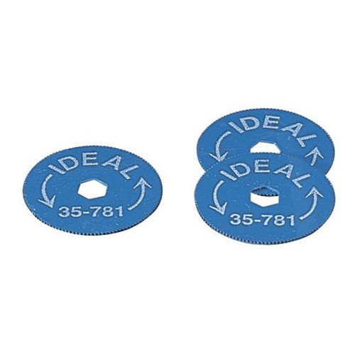 IDEAL 35-781 Доп. диски к инструменту для снятия металлорукава или брони с кабеля 35-782 (5 шт)