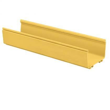 PANDUIT FR6X4YL2 Кабельный лоток серии FiberRunner, размеры: 150 мм x 100 мм, 2м (желтый)<img style='position: relative;' src='/image/only_to_order_edit.gif' alt='На заказ' title='На заказ' />