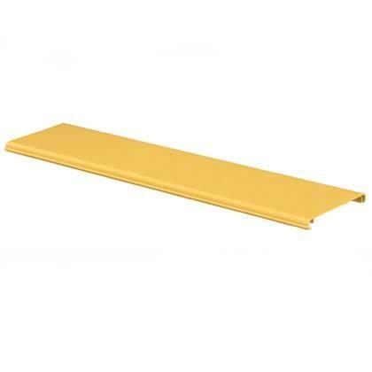 """PANDUIT FRHC6YL2 Навесная крышка для кабельных лотков серии FiberRunner, 6"""" x 4"""" (150мм x 100мм), 2м, жёлтая"""