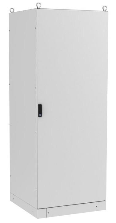ZPAS WZ-6282-01-43-011-AS Электрический шкаф SZE3 1800х800х500 (ВхШхГ), на цоколе, с передней дверью, задней панелью, с монтажной панелью, без боковых стенок, серый (RAL 7035) (собранный)