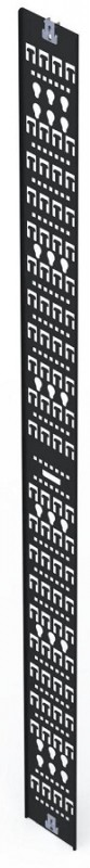 "Siemon V-TRAY-150-1-45 Вертикальный кабельный канал, 150 мм (5.9""), для шкафов V600/ V800 45U, черный (2 шт. в комплекте)<img style='position: relative;' src='/image/only_to_order_edit.gif' alt='На заказ' title='На заказ' />"