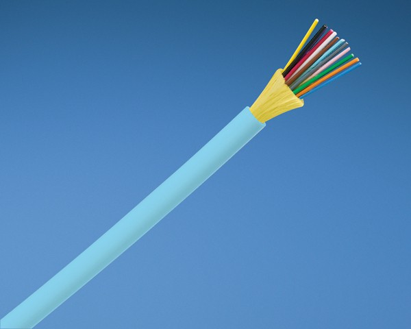 PANDUIT FADCX24-37 (FQDLX24) Кабель волоконно-оптический 10Gig™ 50/ 125 (OM3) многомодовый, внутренний, 24 волокна, LSZH IEC 60332-1, 60332-3C, -20°C - +70°C, морская волна<img style='position: relative;' src='/image/only_to_order_edit.gif' alt='На заказ' title='На заказ' />