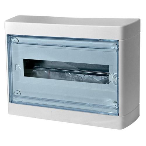 LEGRAND 601246 Nedbox Шкаф настенный 1ряд, 12 модулей, с прозрачной дверцей, с клеммным блоком N+PE, IP 40, белый<img style='position: relative;' src='/image/only_to_order_edit.gif' alt='На заказ' title='На заказ' />
