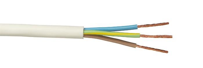 Российский кабель ПВС 3x1.0 кв.мм Провод со скрученными жилами, с ПВХ изоляцией, в ПВХ оболочке<img style='position: relative;' src='/image/only_to_order_edit.gif' alt='На заказ' title='На заказ' />
