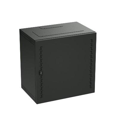 DKC / ДКС R5STI1640MTB Шкаф телекоммуникационный навесной, 16 U (800х600х400) дверь метал, цвет черный RAL9005<img style='position: relative;' src='/image/only_to_order_edit.gif' alt='На заказ' title='На заказ' />