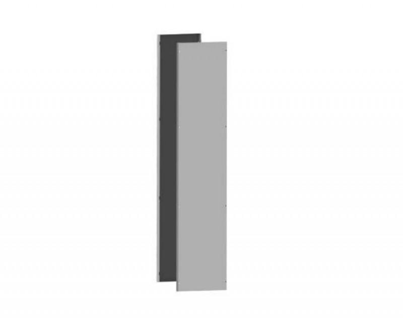 DKC / ДКС R5LE2052 Комплект боковых панелей, 2000x500мм (ВхГ), для шкафов серии CQE, сталь, цвет серый RAL 7035<img style='position: relative;' src='/image/only_to_order_edit.gif' alt='На заказ' title='На заказ' />