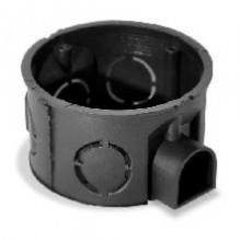 PlastElectro PE 000 003 Коробка установочная круглая, для бетона, усиленная, со стыковочными ушками для сборки в ряд, IP20, D68х40