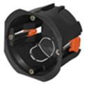 PlastElectro PE 030 040 Коробка установочная круглая, для полых стен, крепежные пластиковые лапки , IP20, D68х47