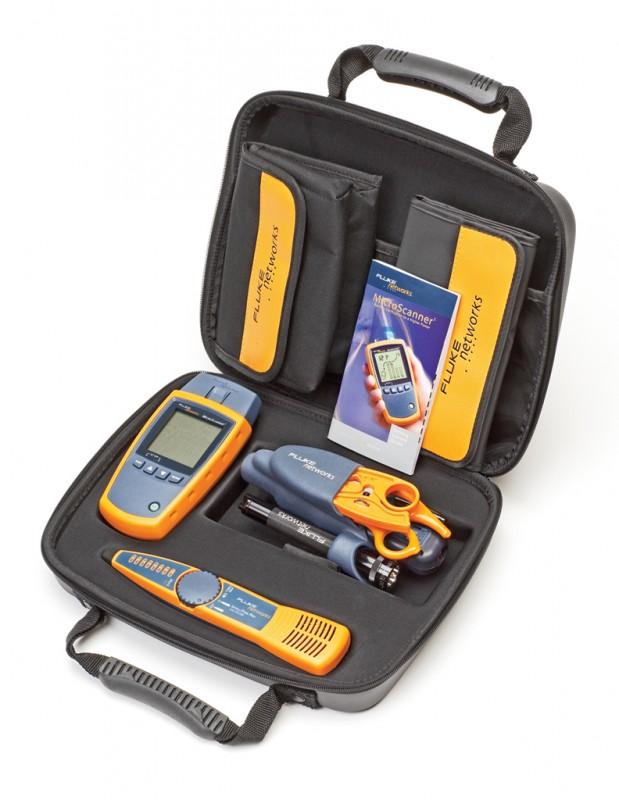 Fluke Networks FLUKE MS2-TTK Комплект кабельного тестера MS2-TTK включает: MicroScanner2, прибор для проверки кабелей с адаптером схемы соед., детектор IntelliTone™ Pro, набор IS60 Pro-Tool™, CD с руководством пользователя, батареи типа АА (2), кейс<img style='position: relative;' src='/image/only_to_order_edit.gif' alt='На заказ' title='На заказ' />