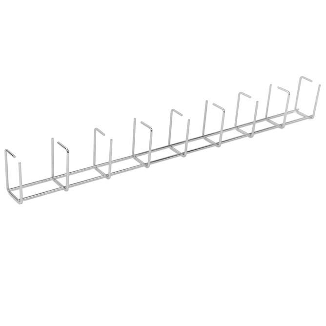 AXELENT X-TRAY 7100-052 Вертикальный кабельный организатор, с кольцами 95x65 мм, длина 800мм, оцинкованный, органайзер с комплектом крепежа, 2101 (2 шт.), 2161 (2 шт.), 2162 (2 шт.)<img style='position: relative;' src='/image/only_to_order_edit.gif' alt='На заказ' title='На заказ' />
