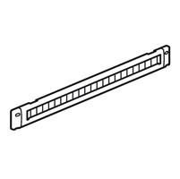 LEGRAND 046530 Щеточный кабельный ввод - 1 U - для шкафов LCS2 - металлический<img style='position: relative;' src='/image/only_to_order_edit.gif' alt='На заказ' title='На заказ' />