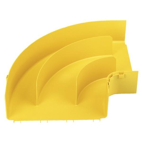 PANDUIT FRRA12X4YL Горизонтальный правый угол, с разделителями, 300x100, FiberRunner, желтый<img style='position: relative;' src='/image/only_to_order_edit.gif' alt='На заказ' title='На заказ' />