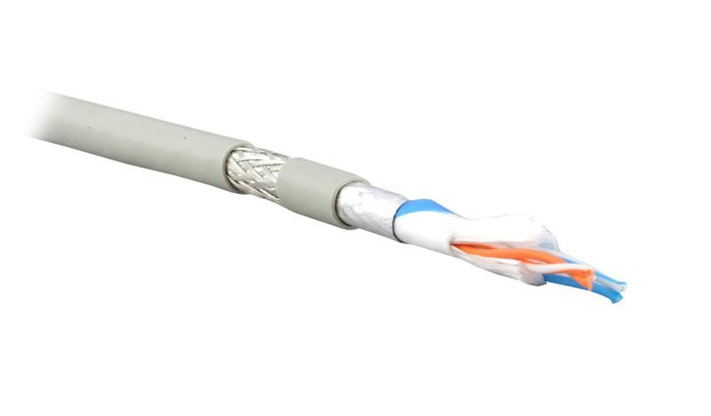 Belden 9841LS.01500 Кабель для интерфейса RS-485, 1x2x24 AWG (7х32), многожильный (stranded), экран SF/ UTP - Beldfoil® (100%) + мед. оплетка (90%), бронированный стальной проволокой (покрытие >95%), -45°С - +80°С, двойная оболочка FRNC (IEC 60332-3)