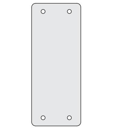 DKC / ДКС R5AD2400 Заглушки для пром. панелей, сплошные, 1 упаковка - 4шт.<img style='position: relative;' src='/image/only_to_order_edit.gif' alt='На заказ' title='На заказ' />