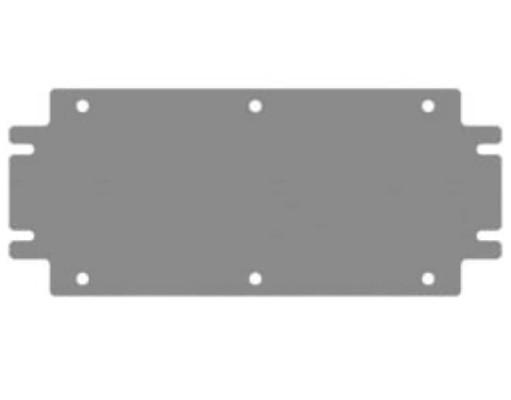 DKC / ДКС R5CDP52 Монтажная плата, 500x200мм (ВхШ), для клеммных боксов CDE<img style='position: relative;' src='/image/only_to_order_edit.gif' alt='На заказ' title='На заказ' />