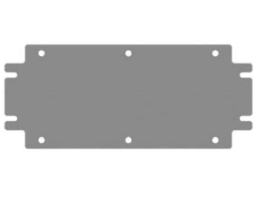 DKC / ДКС R5CDP62 Монтажная плата, 600x200мм (ВхШ), для клеммных боксов CDE<img style='position: relative;' src='/image/only_to_order_edit.gif' alt='На заказ' title='На заказ' />