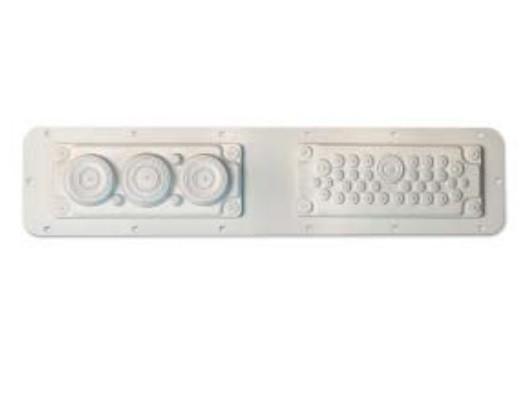DKC / ДКС R5FSCE01 Фланец кабельный без перфорации, тип1 (330x100 мм), для шкафов серии СЕ<img style='position: relative;' src='/image/only_to_order_edit.gif' alt='На заказ' title='На заказ' />