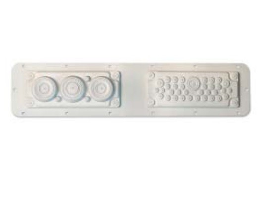 DKC / ДКС R5FSCE02 Фланец кабельный без перфорации, тип2 (530x100 мм), для шкафов серии СЕ<img style='position: relative;' src='/image/only_to_order_edit.gif' alt='На заказ' title='На заказ' />