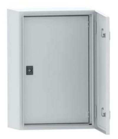 DKC / ДКС R5IE44 Дверь внутренняя, 400x400мм (ВхШ), для шкафов серий CE/ ST, IP20, цвет серый RAL 7035<img style='position: relative;' src='/image/only_to_order_edit.gif' alt='На заказ' title='На заказ' />