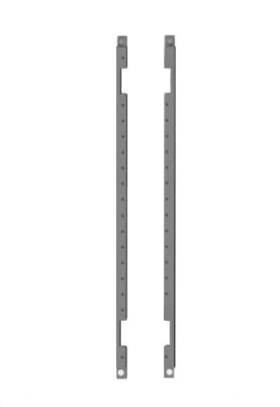 DKC / ДКС R5S50 Рейки дверные, вертикальные, В=500мм, для шкафов серий CE/ ST(в упаковке 2шт)<img style='position: relative;' src='/image/only_to_order_edit.gif' alt='На заказ' title='На заказ' />