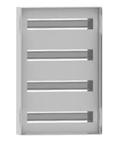 DKC / ДКС R5TM44 Панель для модульного оборудования, 400х400 (ВхШ), 32(2x16)модулей, для шкафов серий CE/ ST, IP20, цвет серый RAL 7035<img style='position: relative;' src='/image/only_to_order_edit.gif' alt='На заказ' title='На заказ' />