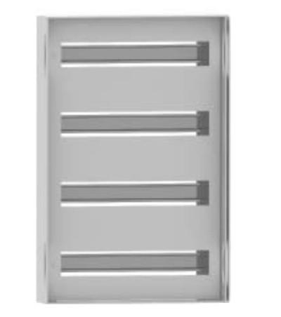 DKC / ДКС R5TM54 Панель для модульного оборудования, 500х400 (ВхШ), 48(3x16)модулей, для шкафов серий CE/ ST, IP20, цвет серый RAL 7035<img style='position: relative;' src='/image/only_to_order_edit.gif' alt='На заказ' title='На заказ' />