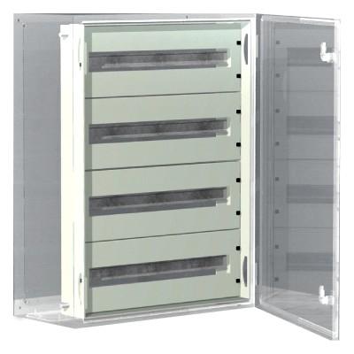 DKC / ДКС R5TM64 Панель для модульного оборудования, 600х400 (ВхШ), 64(4x16)модулей, для шкафов серий CE/ ST, IP20, цвет серый RAL 7035<img style='position: relative;' src='/image/only_to_order_edit.gif' alt='На заказ' title='На заказ' />