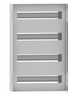 DKC / ДКС R5TM66 Панель для модульного оборудования, 600х600 (ВхШ), 78(3x26)модулей, для шкафов серий CE/ ST, IP20, цвет серый RAL 7035<img style='position: relative;' src='/image/only_to_order_edit.gif' alt='На заказ' title='На заказ' />